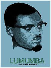 Decorative Poster.Interior wall art design.Decor.Africa Patrice Lumumba.4037