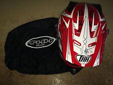 THH TX-22 Mx Helmet Black/Red  Size Small
