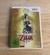 The Legend Of Zelda, Skyward Sword- NINTENDO WII - PAL, Sin Manual