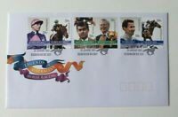 AFD1444) Australia 2007 Australian Legends Horse Racing Pairs FDC