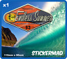 Endless Summer Sticker Surfboard / Surfing WESTFALIA VDUB SPLITTY T2 VOLKSWAGEN