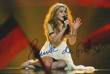 Emmelie de Forest signed 8x12 inch photo autograph
