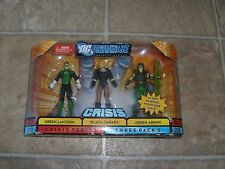 RARE DC UNIVERSE INFINITE HEROES CRISIS GREEN ARROW LANTERN BLACK CANARY FIGURE