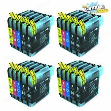 20Pk LC65 LC61 XL Ink for Brother MFC-5890CN MFC-5895CW MFC-6490CW MFC-6890CDW