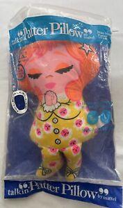 Vtg 1968 Mattel Nite-Nite Patter Pillow Talking Doll