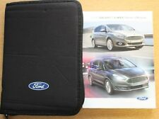 FORD Galaxy S-MAX Manuale Proprietari Manuale Wallet Navi 2015-2017 Pack 11147