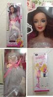 Bambola Baby Doll 42cm tipo Barbie con Luce e Suoni - Fantastiko - Nuova
