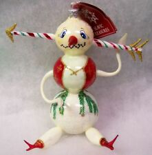 2001 Slavic Treasures Glass Ornament - Ice Cream Headache (extreme snowman)