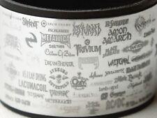 Logos Rock Bands Heavy Metal Music Aluminium Bracelet Wristband adjustable