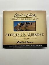 Lewis & Clark Voyage of Discovery Stephen E Ambrose Eddie Bauer Edition