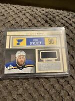 2019-20 UD SP Game Used Locker Essentials #LE-RO Ryan O'Reilly Patch - Blues
