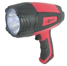 NIB- i-Zoom Spotlight- Ultra Bright Handheld LED Spotlight w/120 Lumens   (RED)