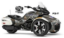 """Can Am Spyder F3-T Decal Graphic Wrap kit - """"OL WARBIRD"""" WW2 BOMBER"""