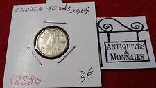 CANADA MONETA 10 DIECI TEN CENTESIMI - 1965 - REF18880