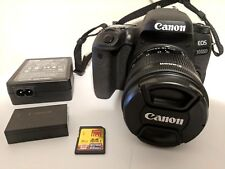 MINT - Canon EOS 9000D (77D) Digital Camera + 18-55mm IS STM Lens + 16 GB MEMORY