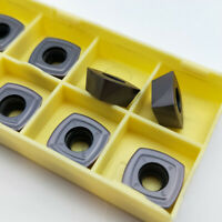 10Pcs New SDMT120512-PH LF6018 Milling cutter insert Carbide inserts SDMT 12 05