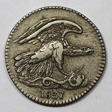 1837 Low-120 Feuchtwanger's One Cent Token