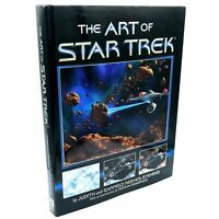 The Art of Star Trek Official Book 1995 Release printed in USA Brand New