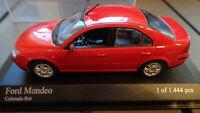 Minichamps, 1:43 Modellauto; Ford Mondeo MKIII, rot, OVP!