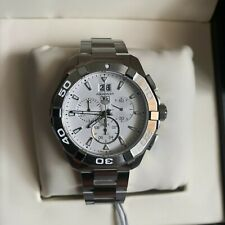 Tag Heuer Aquaracer Silver Dial Chronograph Men's Watch CAY1111.BA0927