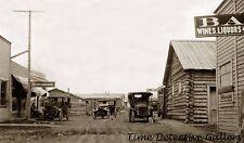 Street Scene, Ester, Alaska - early 1900s - Historic Photo Print