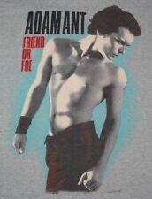 S * vtg 80s 1982 ADAM ANT Friend Or Foe t shirt * 42.181