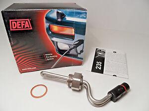 Engine Coolant Heater Element DEFA 411235 for SAAB 900i 2.0 16V B202 1989+