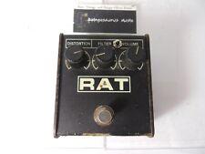 Vintage 1989 ProCo Rat Distortion Effects Pedal Original LM308 IC w/Keeley Mod