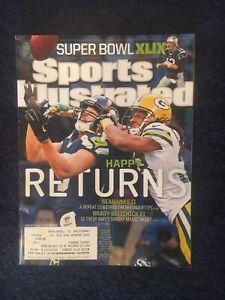 1.26.15 JERMAINE KEARSE Sports Illustrated SEATTLE SEAHAWKS Green Bay Packers