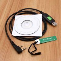 USB Programming Cable for BAOFENG UV5R Plus PUXING WOUXUN KENWOOD QUANSHENG
