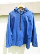 Mens HENRI LLOYD Sailing Jacket Sz L BLUE Half-zip Nylon / Polyurethane
