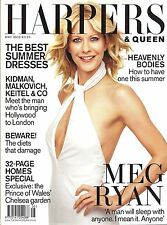 Harpers & Queen May 2002, Meg Ryan cover + 100 BEST DRESSED 2002 Supplement