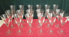 18 NEW Champagne & Wine Glasses (3 Sets of 6)