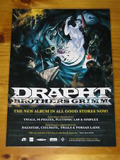 DRAPHT - BROTHERS GRIMM - Laminated Promo Poster