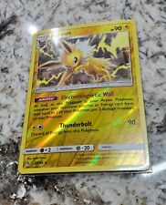 Jolteon 23//68 rare /& Eevee 49//68 common Pokemon card SM Hidden Fates NM