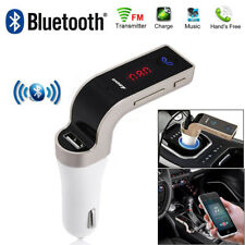 Wireless Bluetooth 4.1 Car AUX Stereo Audio Receiver A2DP FM Adapter USB Charger