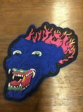 Blue Dragon Patch, Inspired By Ozzy Osbourne Tattoo, Black Sabbath