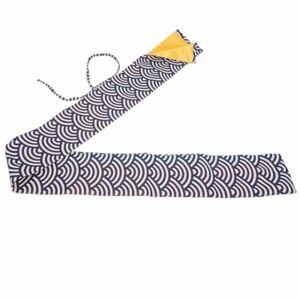Japanese Samurai Sword Katana Knife Large Size Cotton Sword Bag Carry Case