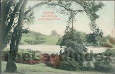 STRANRAER Castle Kennedy Round Lily Pond Postcard WIGTOWNSHIRE Stengel O.F. & Co