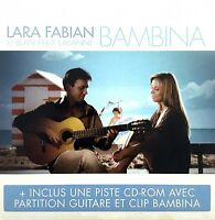 Lara Fabian Et Jean-Félix Lalanne ‎CD Single Bambina - France (EX/G)