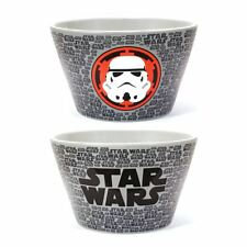 New Star Wars Stormtrooper Embossed Bowl Cereal Soup Dessert Ceramic Official