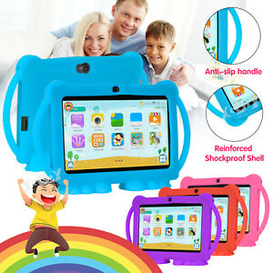 Xgody 7 inch Android Tablet For Kids Quad Core 2*Cam WiFi 1+16GB ROM Bundle Case