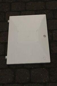 ELECTRIC METER BOX DOOR COMPLETE with Key, Latch, Hinges
