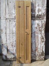 "Reclaimed three panel period pine window shutter shutters 19"" wide x 81""x 1 1/2"""