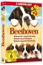 new, Beethoven - 3 DVD Movie Set Teil 4-6 2012, 3 Filme, Film ,Top Unterhaltung