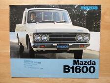 MAZDA B1600 prelievo BROCHURE PROSPEKT c1976-mercato del Regno Unito
