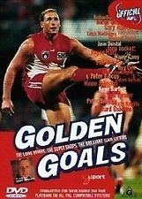 Golden Goals Of The AFL (DVD, 2002)