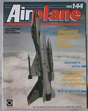 Airplane Issue 144 General Dynamics F-16 Export, SAAB JA 37 Viggen, Convair