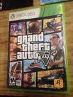 Grand Theft Auto V (Microsoft Xbox 360, 2013) Install+case+map