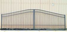 Custom Built Driveway Entry Gate 16ft Wide Dual Swing. Fencing, Handrails.Beds